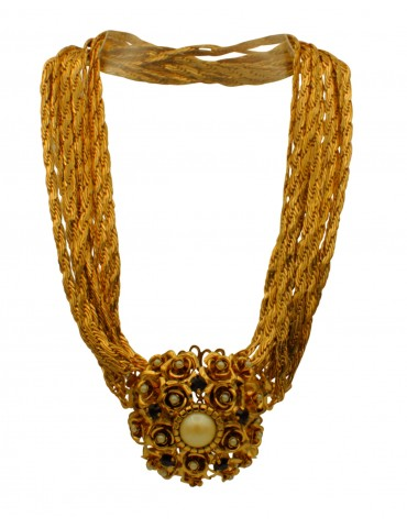 COLLIER PIERRE GRENAT...