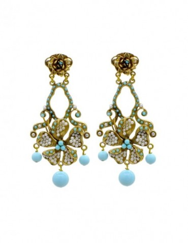 TURQUOISE BOUCLE D'OREILLE...