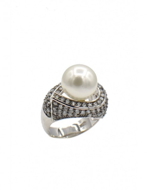 FRESHWATER PEARL RINGS  Sterling silver ring  Statement ring  Gift for women